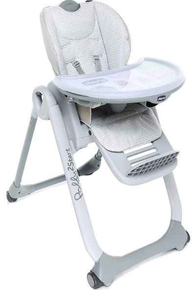 Chicco Polly 2 Start Mama Sandalyesi - Açık Gri