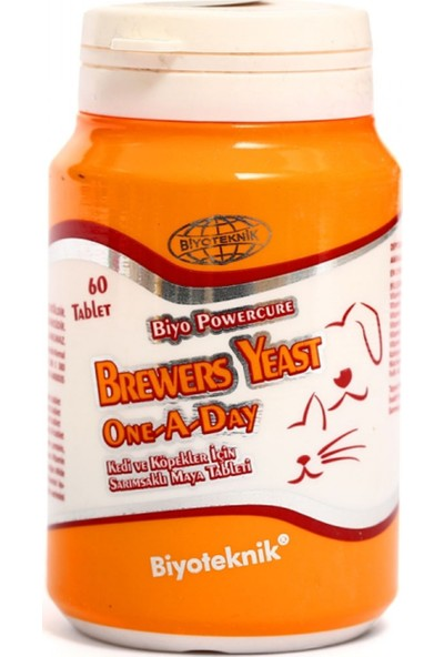 Biyoteknik Brewers Yeast One A Day Tablet
