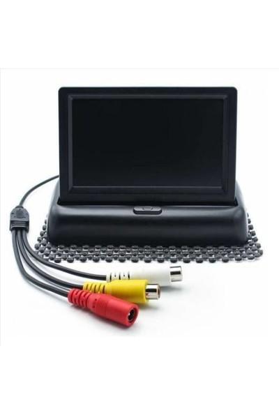 Fiat Albea (2003>) Kameralı Ekranlı Ses İkazlı Park Sensörü