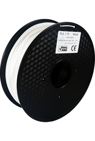 Filament Dünyası Beyaz PLA 3D Yazıcı Filamenti 1.75mm - 1kg