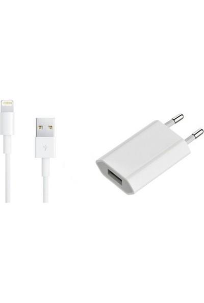 Prige USB Adaptör + Data Kablosu ( iPhone 5/5S/SE/6/6S/7/Plus/8/X )