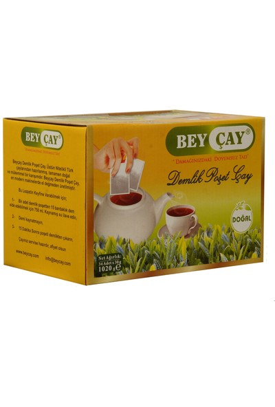 Bey Çay Demlik Poşet Çay 30Gr X 34 Adet