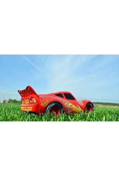 Ethem Büyük Boy 28 Cm Uzaktan Kumandalı Sarjlı Şimşek Mcqueen Araba Cars