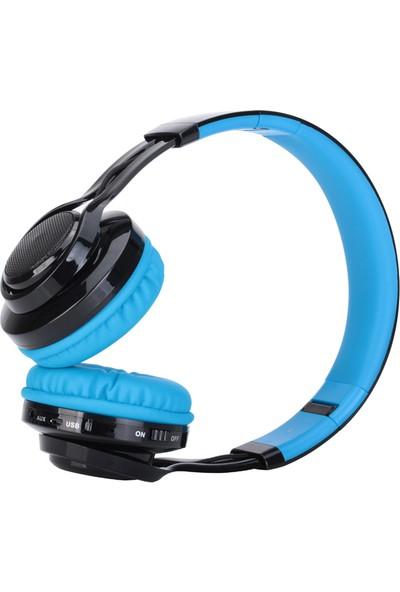 Romix AB005 Bluetooth Destekli Gürültü Azaltıcı Kulaklık - Mavi