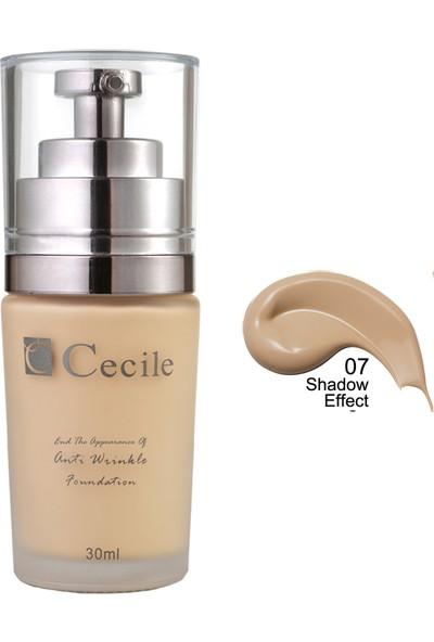 Cecile Cecile Kırışıklı Görünümünü Kapatmaya Yardımcı Fondöten / End The Appearance Of Anti Wrinkle Foundation 06