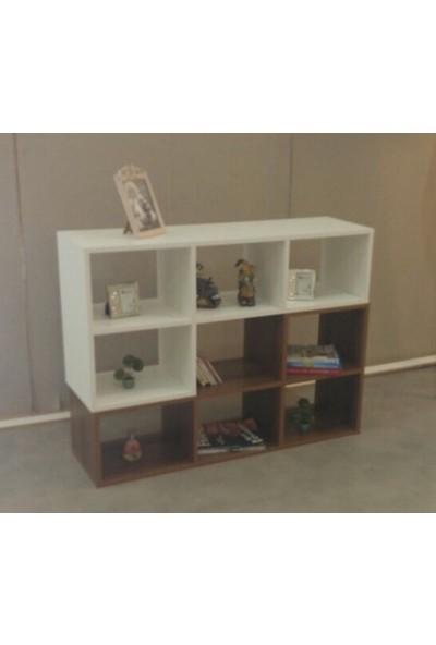 Home Life Tv Ünitesi Sehpa Kitaplık Beyaz