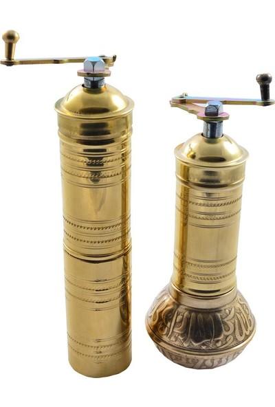 Demmex Acar Değirmen Baharat Tuz Öğütücü Set