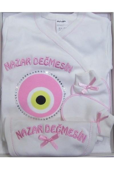 Baby Dodo Nazar 5'li Hastane Çıkışı Zıbın Seti