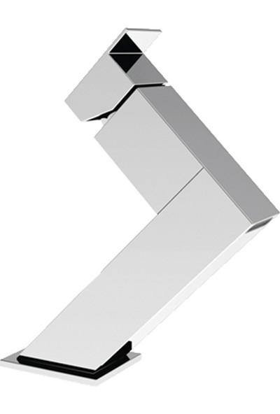 Remer Rubinetterie Flash Tek Deliklili Lavabo Bataryası
