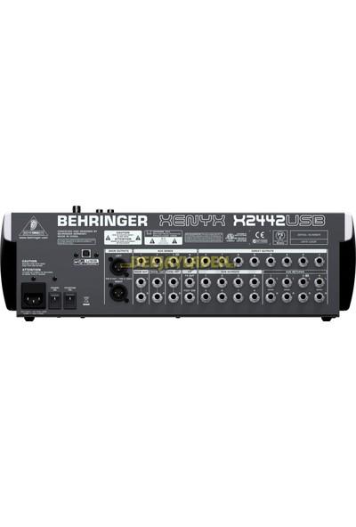 Behringer - Xenyx X2442USB 24 Kanallı USB Deck Mikser