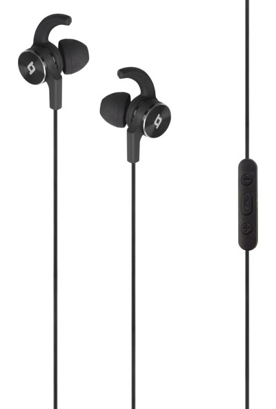 TTec EchoFit Kumandalı ve Mikrofonlu Kulakiçi Kulaklık - Siyah 2KM112S