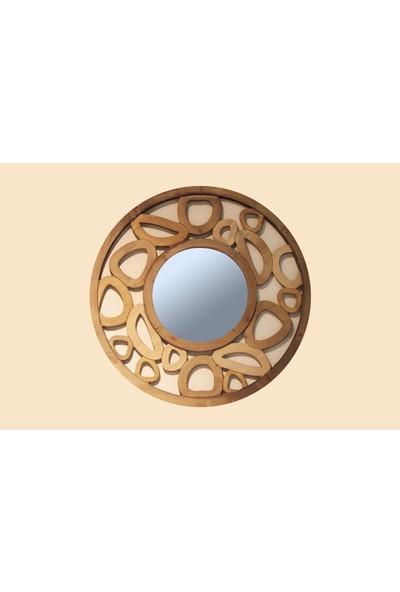 Fidex Home Dekoratıf Ahşap Ayna