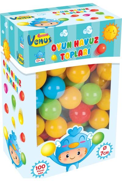 Venüs Oyuncak Oyun Havuz Topu 7 Cm 100 Adet