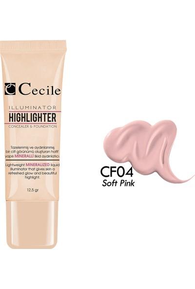Cecile Göz Altı Kapatıcısı& Fondöten / Concealer Foundation CF04