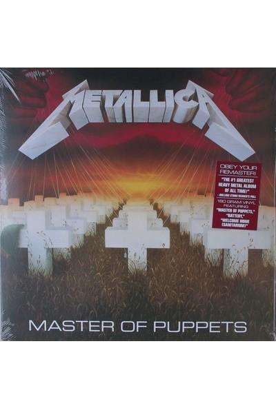 Metallica – Master Of Puppets Plak