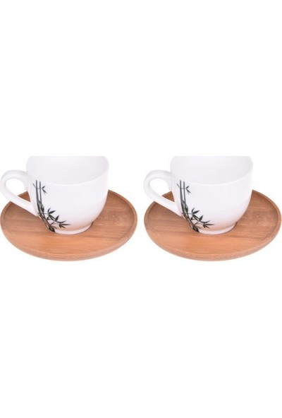 Bambum Lordi 2 Kişilik Kahve Fincan Takımı B0017
