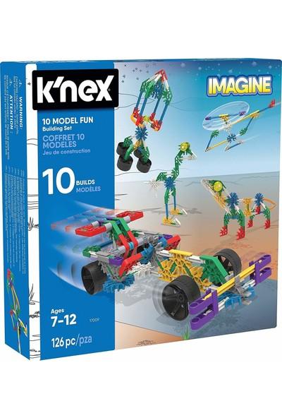 K'nex 10 Model Eğitici Yapı Seti