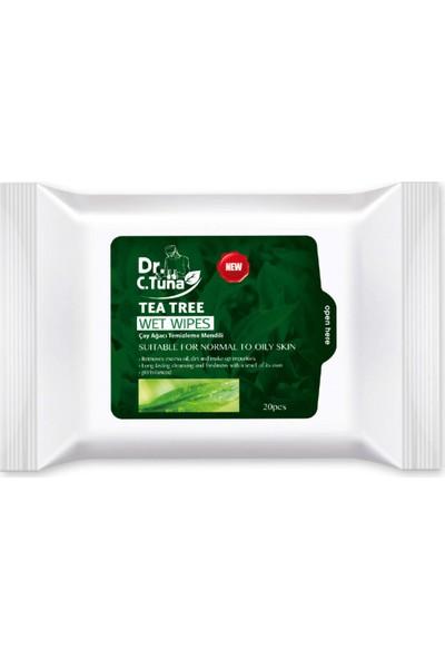 Farmasi Dr.Cevdet Tuna Çay Ağacı Temizleme Mendili 20'li