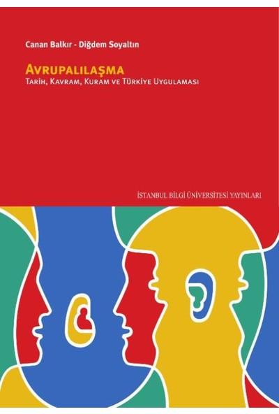 Avrupalılaşma: Tarih, Kuram, Kavram Ve Türkiye Uygulaması - Canan Balkır