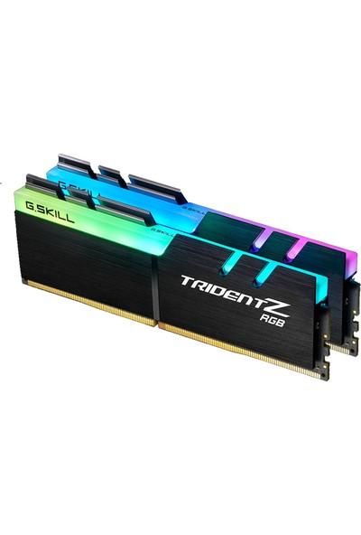 GSKILL TRIDENT Z RGB LED DDR4-4133Mhz CL19 16GB (2X8GB) DUAL (19-19-19-39) 1.35V (F4-4133C19D-16GTZR)