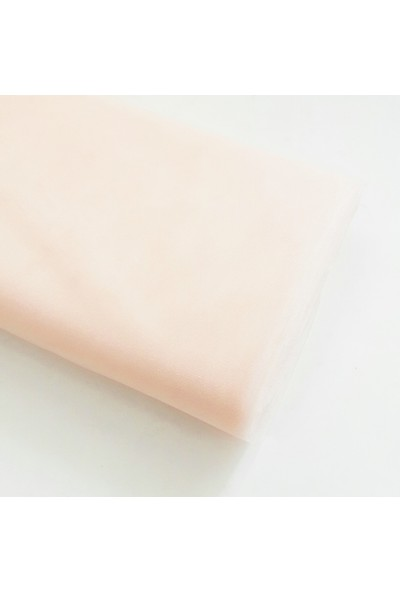 Byozras Kristal Tül - En 3 Metre - Soft ve Canlı Renklerde- Somon