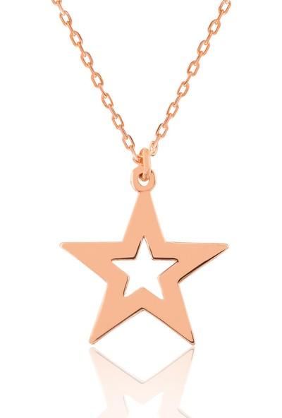 Grandhanra Gümüş Yıldız Kolye 310792