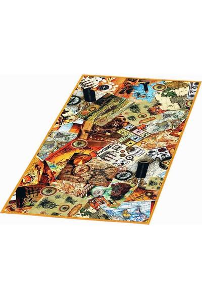 Nevresim Dünyası Dijital Baskı Halı 80x140 - Harita