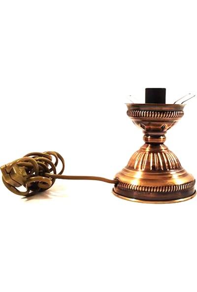 Handicraft Lamps Lamps Su Kabağı İçin Şık Metal Abajur Altlık