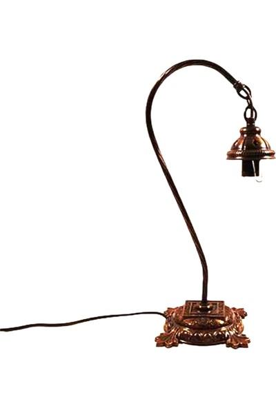Handicraft Lamps Su Kabağı Lambalarınız İçin Metal Eğri Boyun Altlık