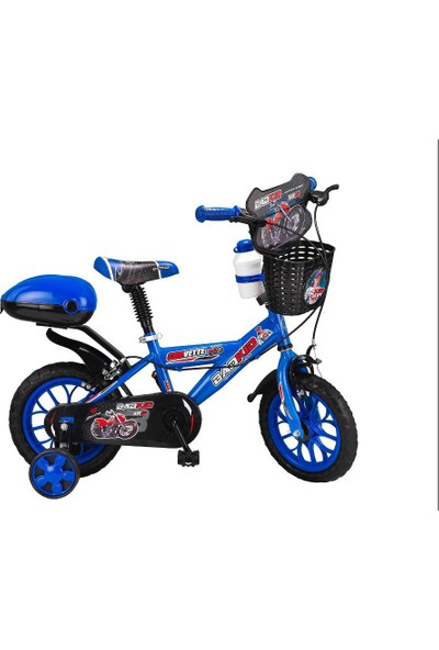 Corvette Badkid 12 Jant Çocuk Bisikleti Mavi