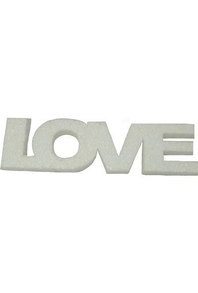 Duvar Süsü Simli Love