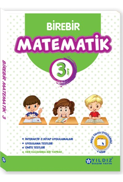 Yıldız Yayınları Birebir Matematik 3. Sınıf