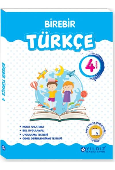 Yıldız Yayınları Birebir Türkçe 4. Sınıf