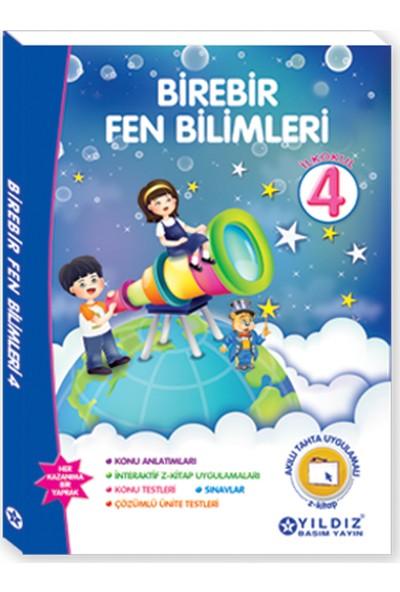 Yıldız Yayınları Birebir Fen Bilimleri 4. Sınıf