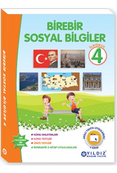 Yıldız Yayınları Birebir Sosyal Bilgiler 4. Sınıf