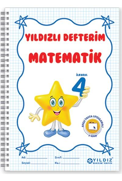 Yıldız Yayınları Yıldızlı Defterim Matematik 4. Sınıf