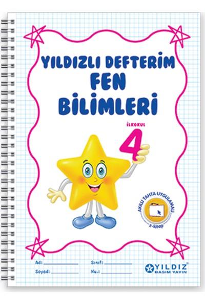 Yıldız Yayınları Yıldızlı Defterim Fen Bilimleri 4. Sınıf
