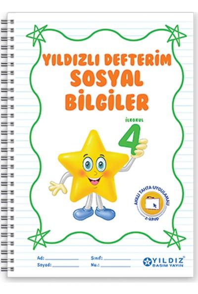 Yıldız Yayınları Yıldızlı Defterim Sosyal Bilgiler 4. Sınıf