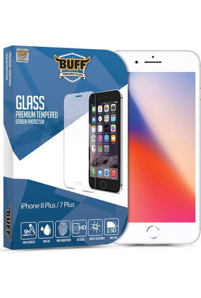 Buff Apple iPhone 8 Plus Privacy Ekran Koruyucu