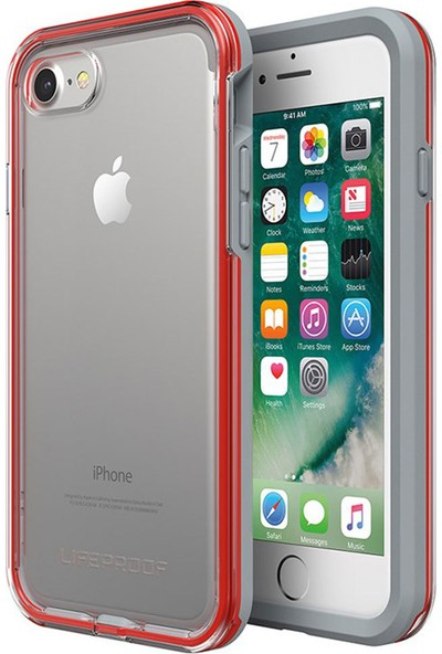 LifeProof Slam Apple iPhone 7 - iPhone 8 Kılıf Lava Chaser Red