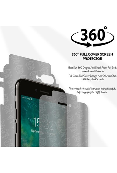 Buff Samsung Galaxy S7 Edge Full Body Ekran Koruyucu