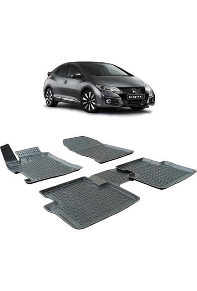 Otom Honda Civic 2012-2016 Arası Araca Özel 3D Paspas