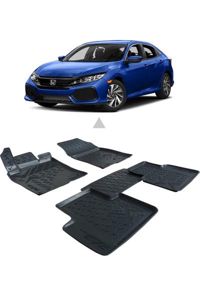 Otom Honda Civic 2016-Sonrası Araca Özel 3D Paspas