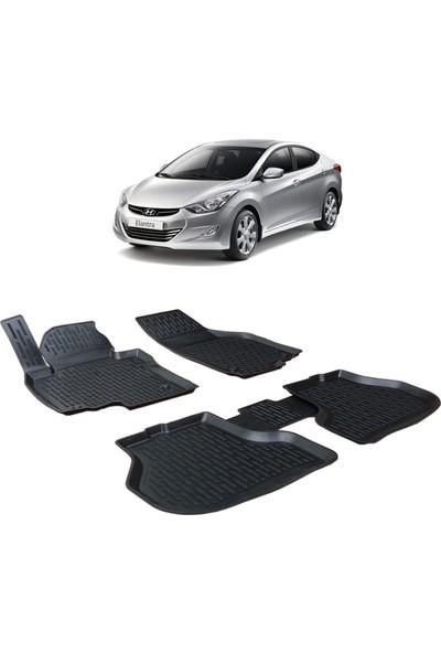 Otom Hyundai Elentra 2012-Sonrası Araca Özel 3D Paspas