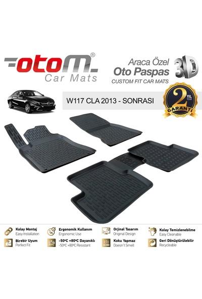 Otom Mercedes Cla Serisi 2013-2019 W117 Araca Özel 3D Havuzlu Paspas