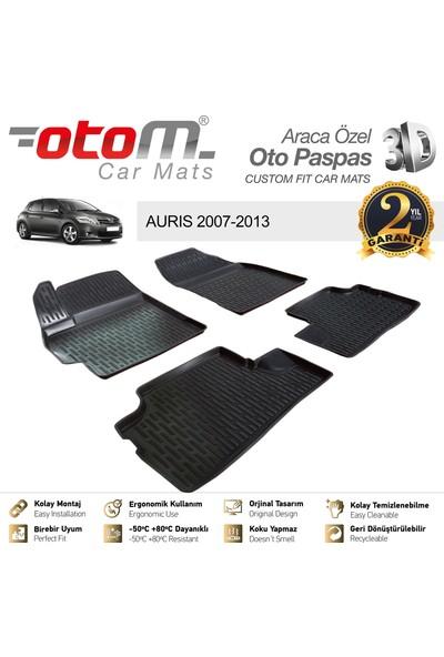 Otom Toyota Auris 2007-2013 Araca Özel 3D Havuzlu Paspas