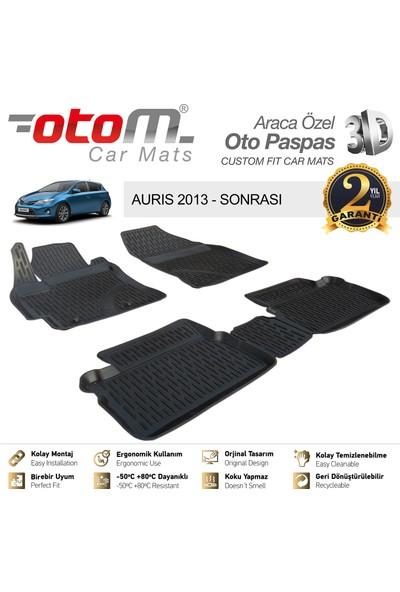 Otom Toyota Auris 2012-2018 Araca Özel 3D Havuzlu Paspas