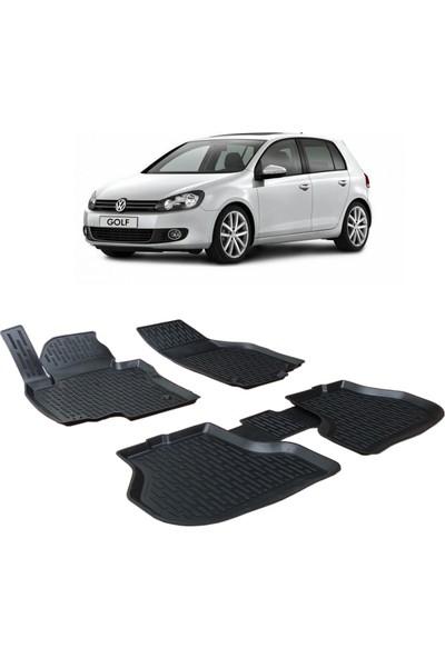 Otom Volkswagen Golf 6 2009-2013 Arası Araca Özel 3D Paspas