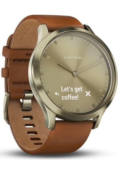 Garmin Vivomove HR Premium - Deri Kayış Akıllı Saat