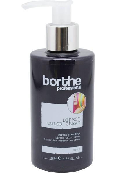 Borthe Gri Su Bazlı Saç Boyası